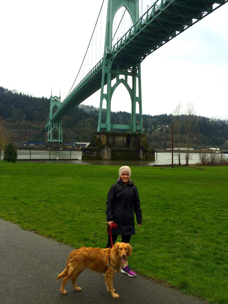 Cathedral Park (Josie and I 2)
